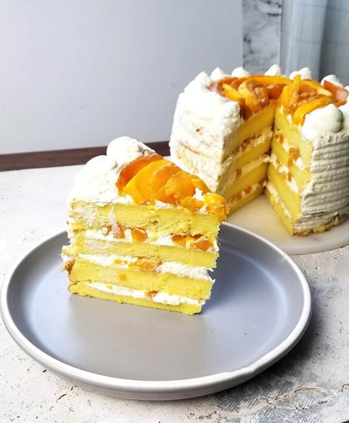 Red Ribbon Copycat Mango Cake Recipe