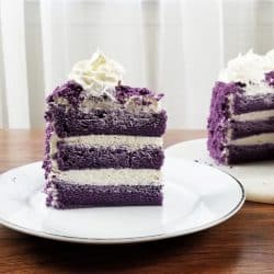 Soft and Moist Ube Cake Recipe with video and great recipe