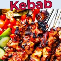 Honey Garlic Chicken Kebab