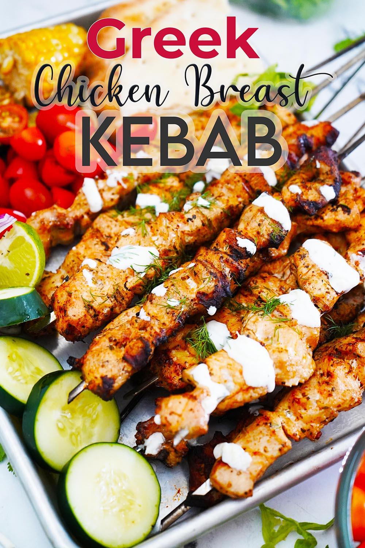 Chicken Breast Kebab