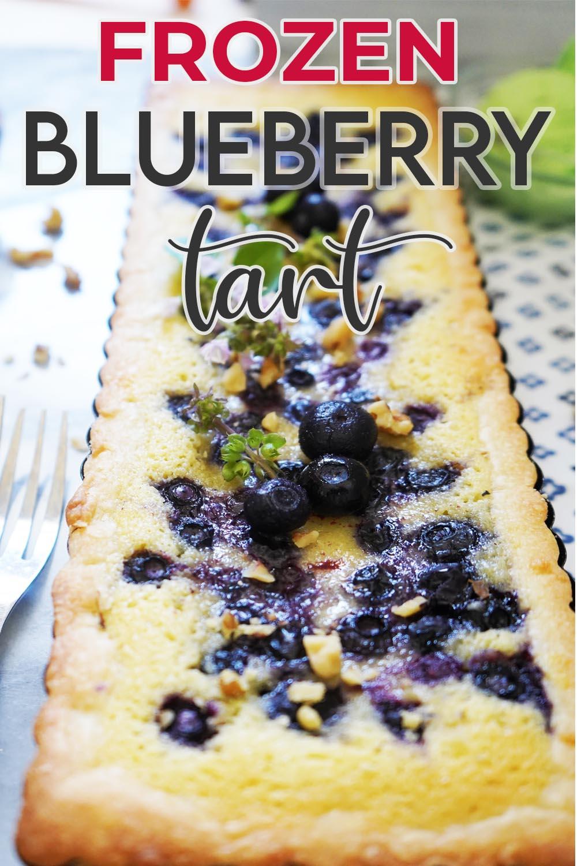 Frozen Blueberry Tart