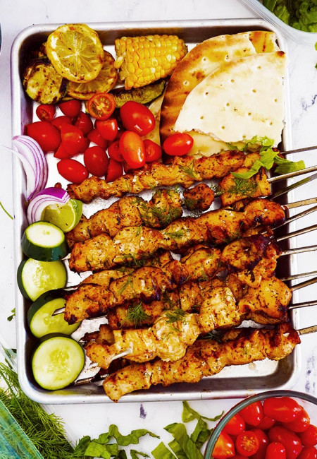 Greek Chicken Breast Kebab