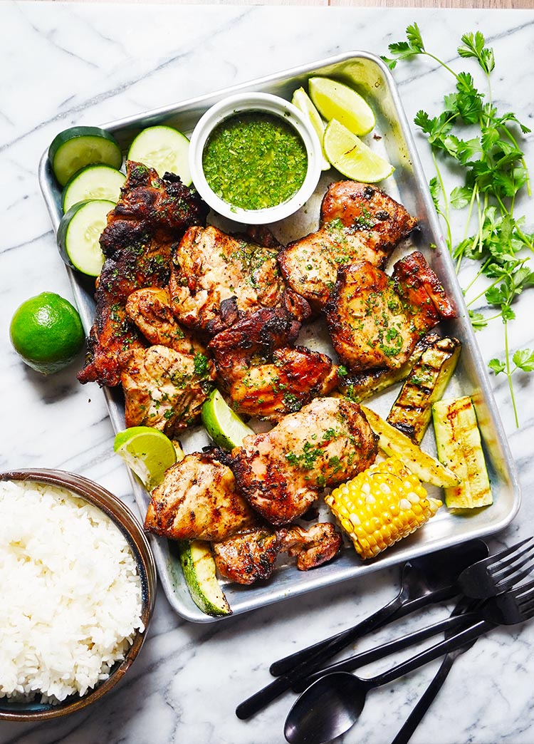 Lime Cilantro Grilled Chicken
