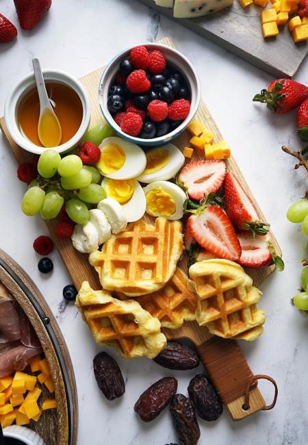 Mother's Day Breakfast Charcuterie Board
