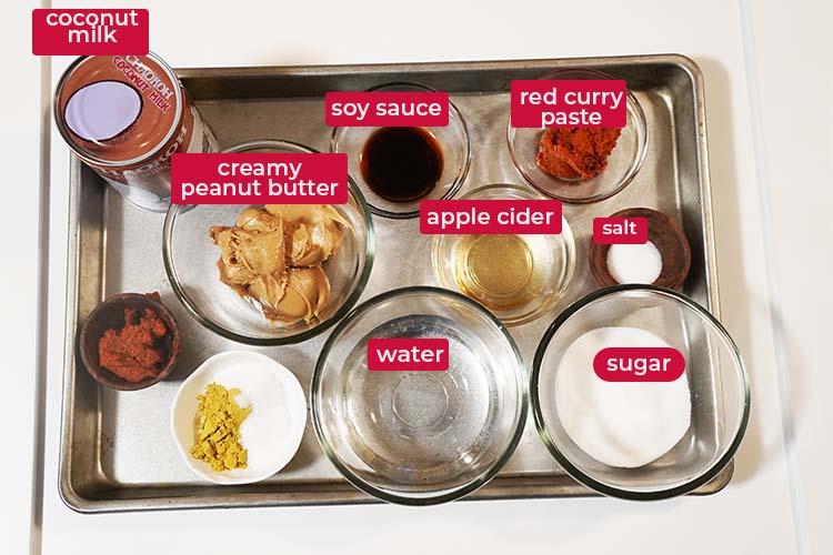 Thai Peanut Sauce Ingredient