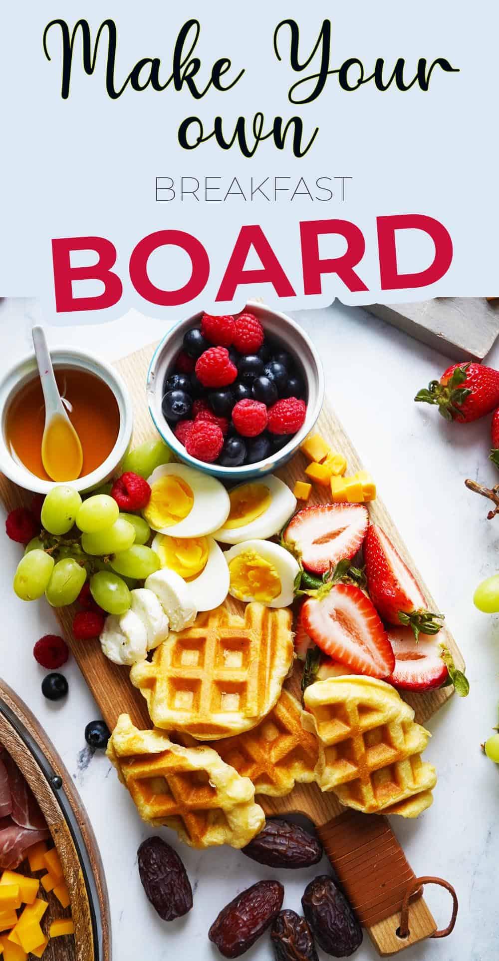 Zero Budget Mother's Day Breakfast charcuterie board