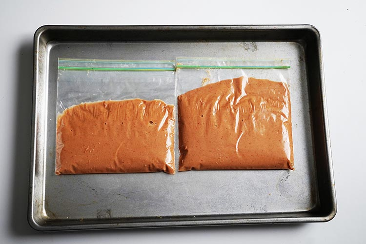 how to freeze peanut sauce