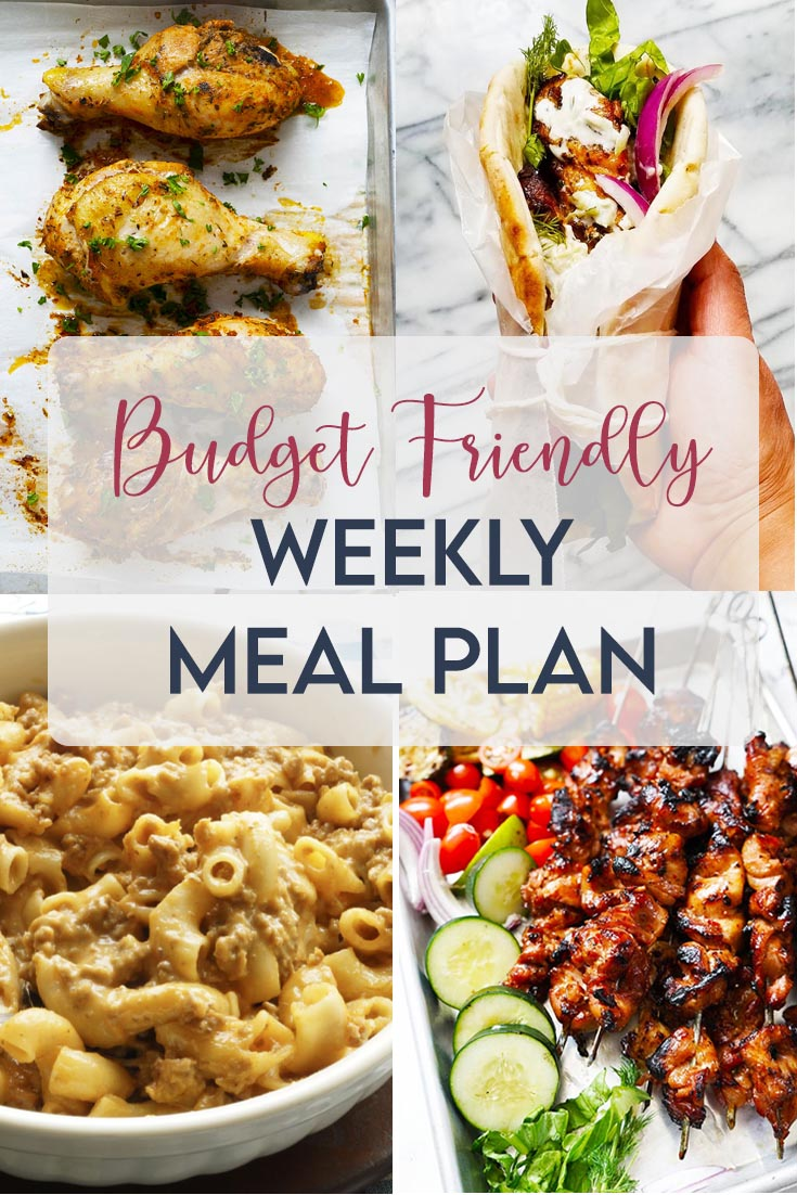 first weekly meal plan menu. Here, you will find budget meals that you can easily make at home. This meals are microwave friendly, so you can make a big batch and bring the leftover to work.