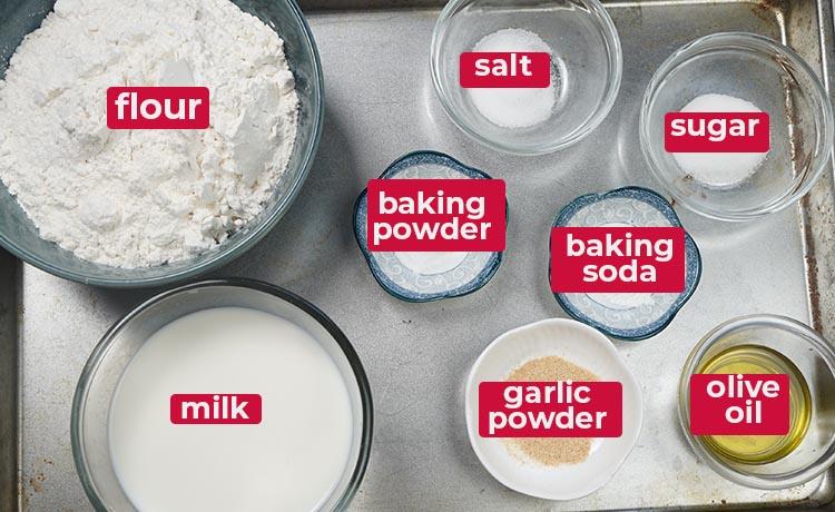 Flat Bread Recipe Ingredients