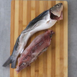How to Debone Milkfish InstructionTake Meat out starting from the tail