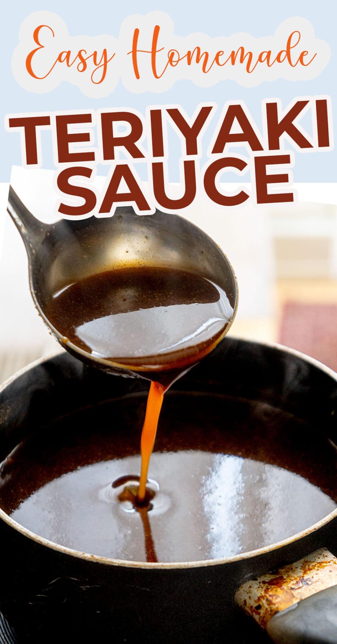 Easy Teriyaki Sauce Recipe Homemade