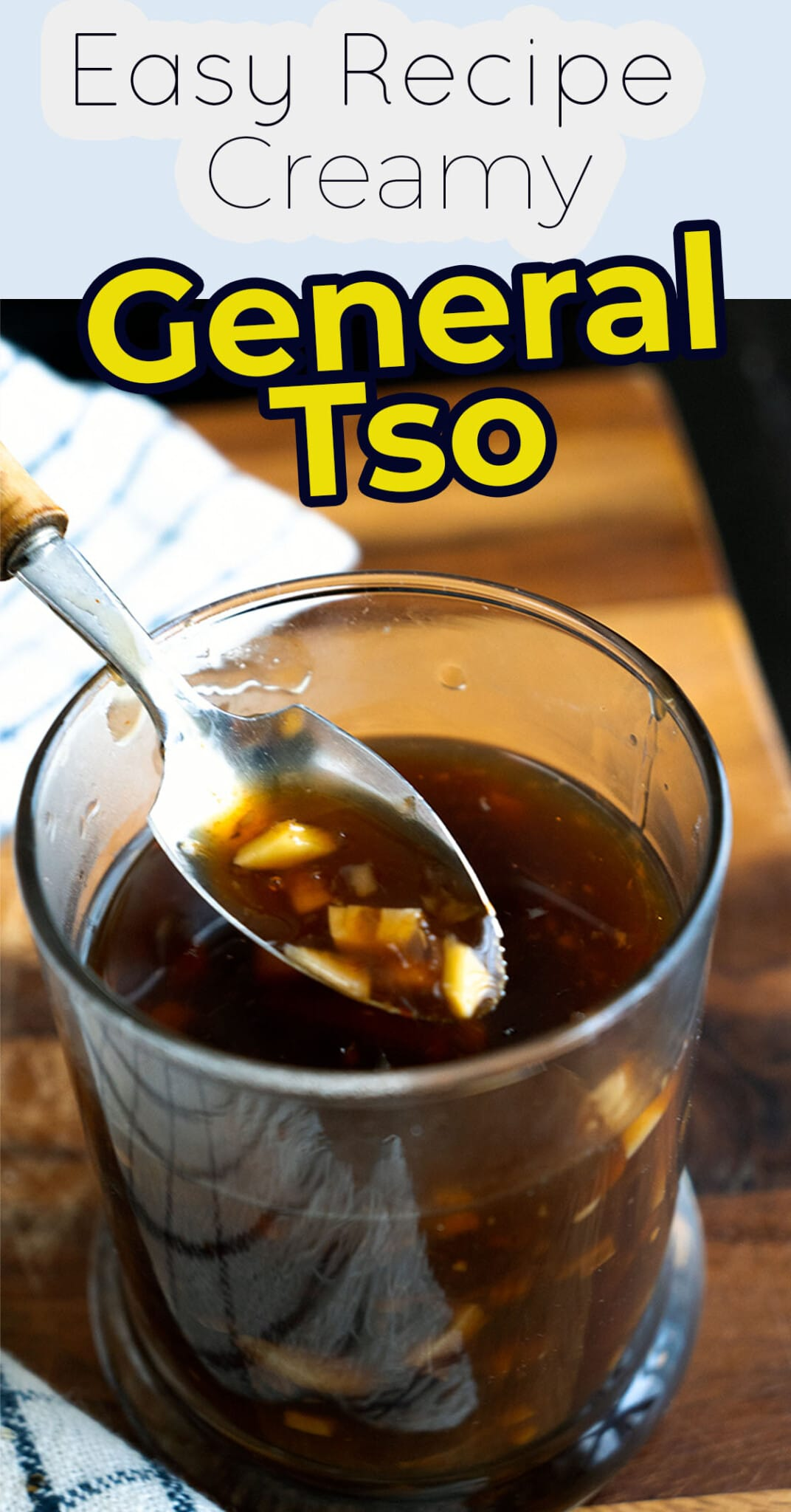 Recipe for General Tso Sauce. Uncomplicated, mouthwatering, luscious General Tso Sauce made at home. Made only of simple ingredients, No Hoisin Sauce Added. Better than take and perfect for any chicken cut of your choice.