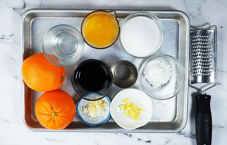Orange Chicken Ingredients