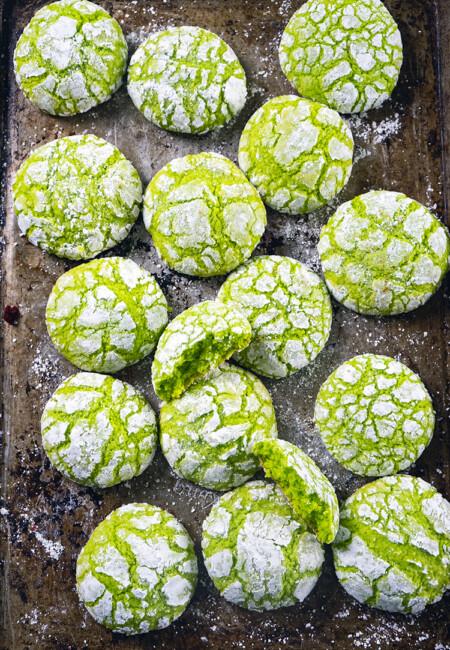 Buko Pandan Cookie Crinkles Recipe that is Fool Proof and Tested