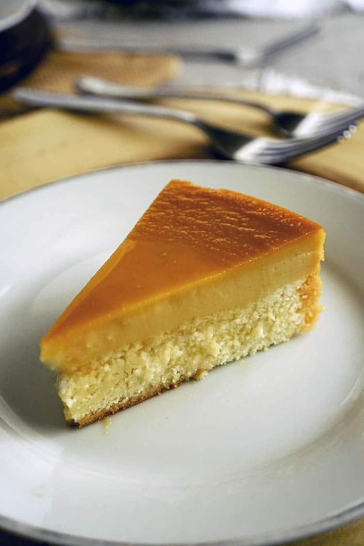 Custard Cake (Filipino Leche Flan Cake